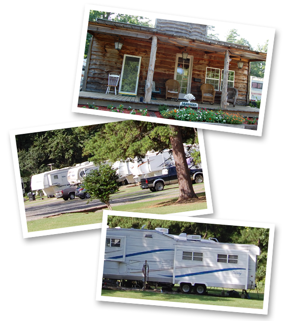 Secluded Acres RV Park In Longview Texas